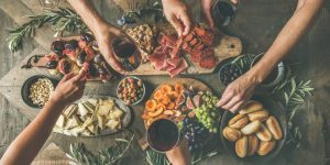 A cheese board: the center of your celebration