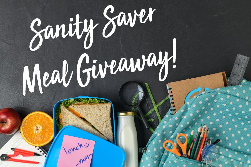 Sanity Saver Meal Giveaway!