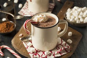 Delicious Candy Cane Cocoa.